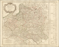 Poland Map By Paolo Santini