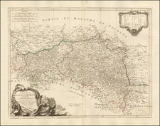 Poland, Ukraine and Czech Republic & Slovakia Map By Paolo Santini