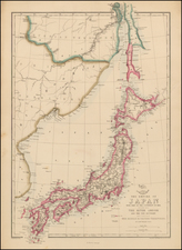 Japan Map By Edward Wells