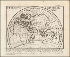 World, World and Eastern Hemisphere Map By Noel-Antoine Pluche