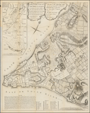 New York City Map By Valentine's Manual / John Montresor