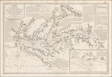Mid-Atlantic, Southeast and Virginia Map By Depot de la Marine / Anthony Smith