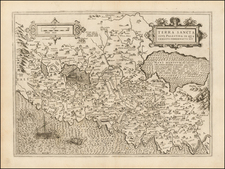 Holy Land Map By Michel Van Lochem