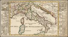 Italy Map By Gabriel Bodenehr