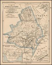 South Africa Map By Augustus Herman Petermann