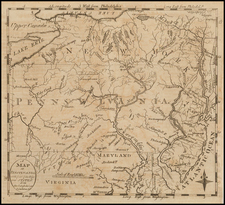 Mid-Atlantic Map By Jedidiah Morse