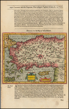 Greece, Turkey and Turkey & Asia Minor Map By Jodocus Hondius / Samuel Purchas