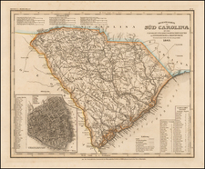 Southeast Map By Joseph Meyer  &  Carl Radefeld