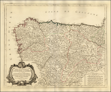 Spain Map By Paolo Santini