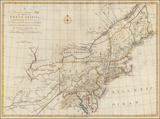 New England, Mid-Atlantic and Midwest Map By John Gibson