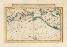 A Map of the Discoveries made by Captn.s Cook & Clerke in the Years 1778 & 1779 between the Eastern Coast of Asia and the Western Coast of North America . ... Also Mr. Hearn's . . .  By Mathew Carey