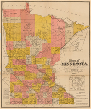 Midwest and Minnesota Map By Berlandi & Bott