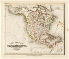North America Map By Joseph Meyer
