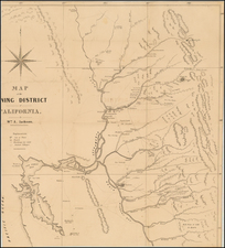 California Map By William A. Jackson