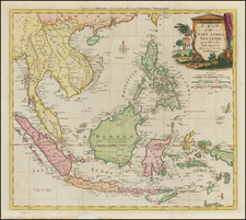 Southeast Asia, Philippines and Other Islands Map By Thomas Kitchin