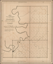South and Alabama Map By E. Paguenaud