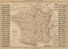 France Map By Alexandre Vuillemin
