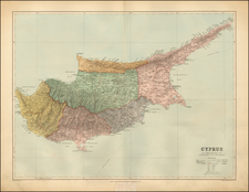 Greece, Turkey, Balearic Islands, Other Islands and Turkey & Asia Minor Map By Edward Stanford