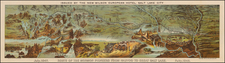 Midwest, Plains, Southwest and Rocky Mountains Map By Millroy & Hayes