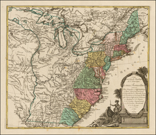 United States Map By Mathais Albrecht Lotter