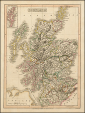British Isles Map By Charles Smith