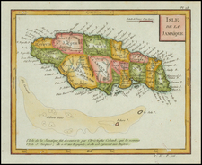 Caribbean Map By Citoyen Berthelon