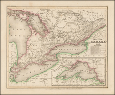 Midwest and Canada Map By Joseph Meyer