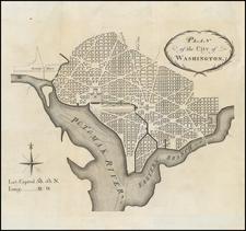 Washington, D.C. Map By John Vallance  &  James Thackara