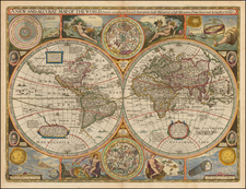World and World Map By John Speed