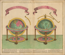 World, World and Celestial Maps Map By Tobias Conrad Lotter