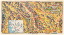 California Map By Gerald A. Eddy