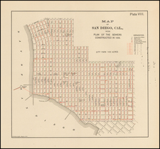 San Diego Map By Struthers & Co.