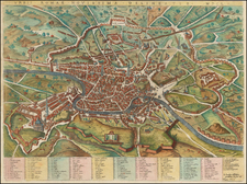 Italy Map By Giacomo Giovanni Rossi