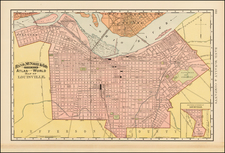 South Map By William Rand  &  Andrew McNally