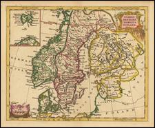 Scandinavia Map By Thomas Jefferys