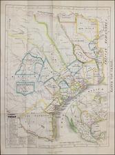 Texas Map By A.D. Geisler