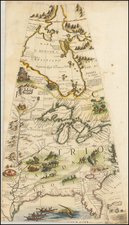 Mid-Atlantic, South, Southeast, Texas, Midwest, Plains and Canada Map By Vincenzo Maria Coronelli
