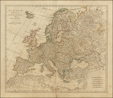 Europe and Europe Map By Robert Sayer / John Bennett