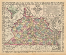 Southeast and Virginia Map By Charles Desilver