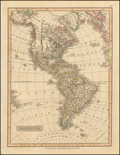 South America and America Map By Charles Smith