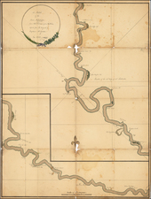 South and Louisiana Map By Captain McGrudar / Abraham Ellery / Alexander Hamilton