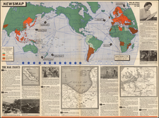 World and World Map By United States GPO