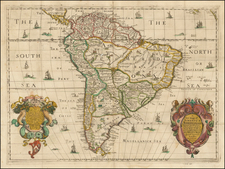 South America Map By Richard Blome