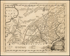 Mid-Atlantic Map By Thomas Kitchin