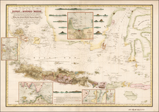 Southeast Asia, Indonesia and Other Islands Map By Heinrich Berghaus