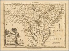 Mid-Atlantic and Southeast Map By London Magazine