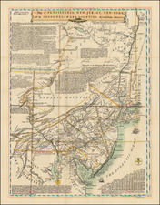 Mid-Atlantic Map By Lewis Evans