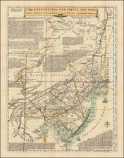 Mid-Atlantic Map By Lewis Evans