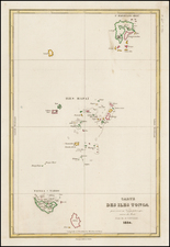 Other Pacific Islands Map By Jules Sebastian Cesar Dumont-D'Urville