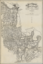 Southeast Map By Jeremy Francis Gilmer